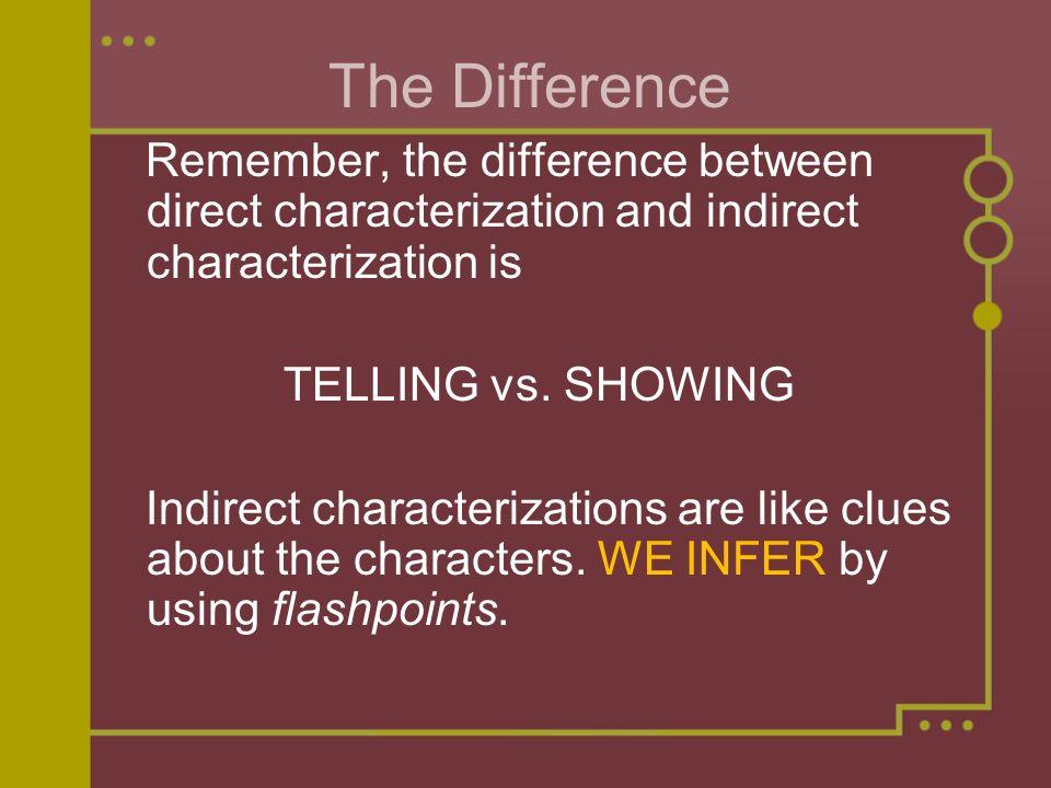 direct characterization - Apmayssconstruction
