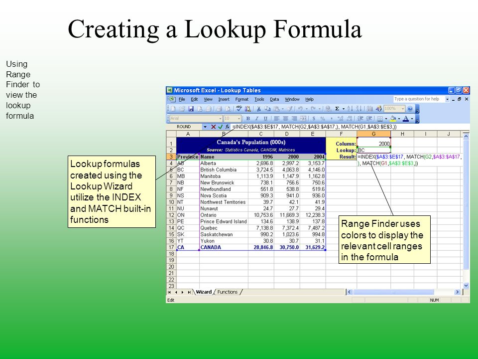 Chapter 12 Creating Formulas that Look Up Values Microsoft Excel ppt