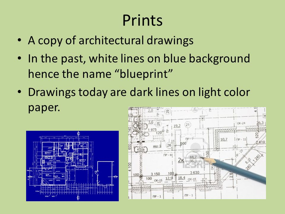 Objectives  Components of Architectural Drawings - ppt download - copy blueprint education noida