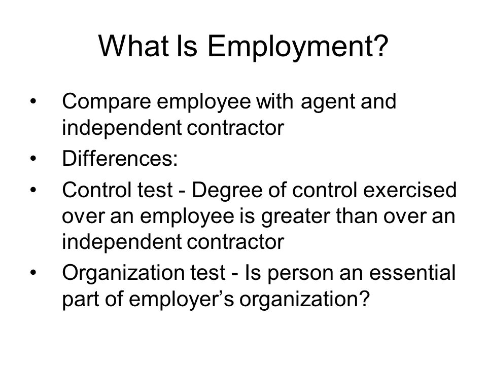 Differences Employee Independent Contractor kicksneakers - differences employee independent contractor