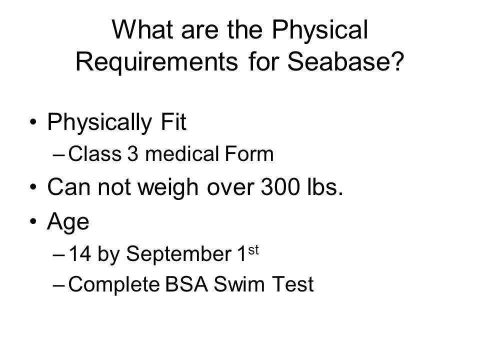 Bsa Medical Form All Participants Must Complete The Bsa Medical - bsa medical form