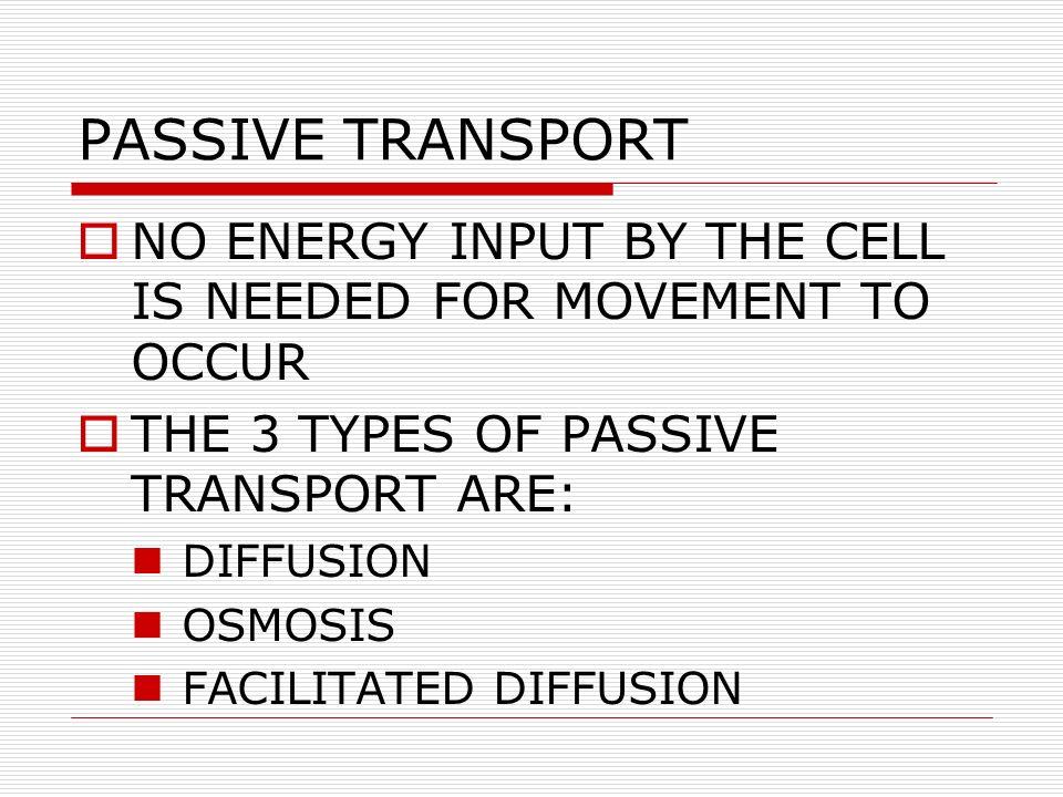 CELL TRANSPORT PASSIVE  ACTIVE TRANSPORT CLASSROOM BOOK 7-3 ZEBRA