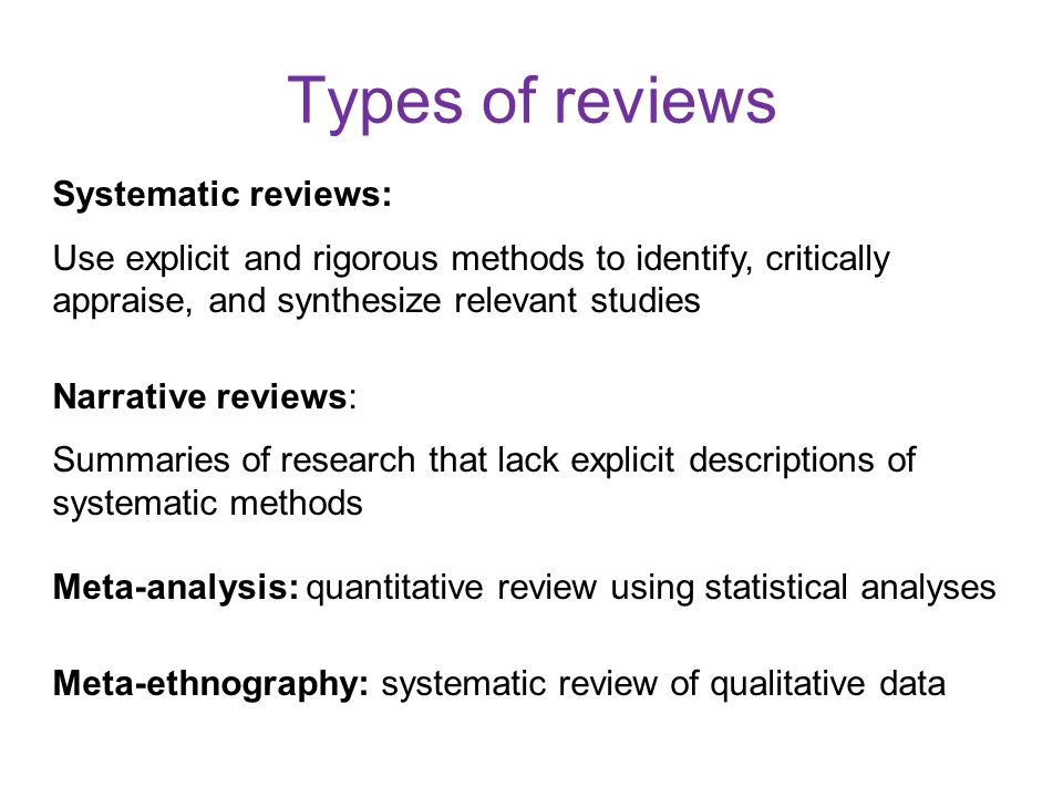 Systematic literature review template - Advantages of Selecting