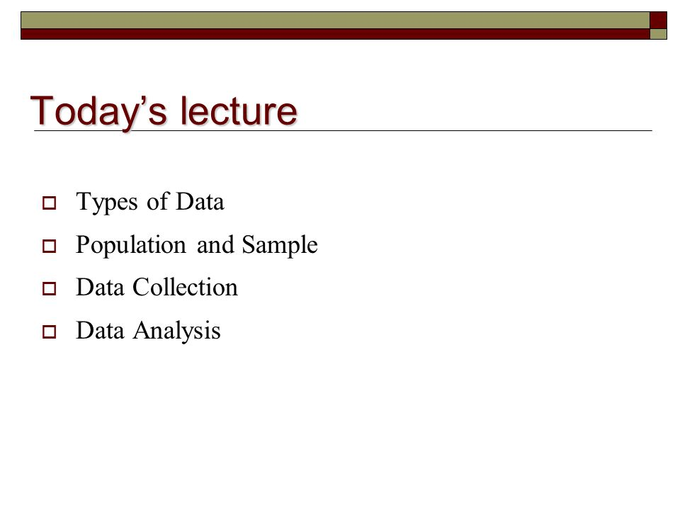 Data Collection  Analysis ETI 6134 Dr Karla Moore - ppt download