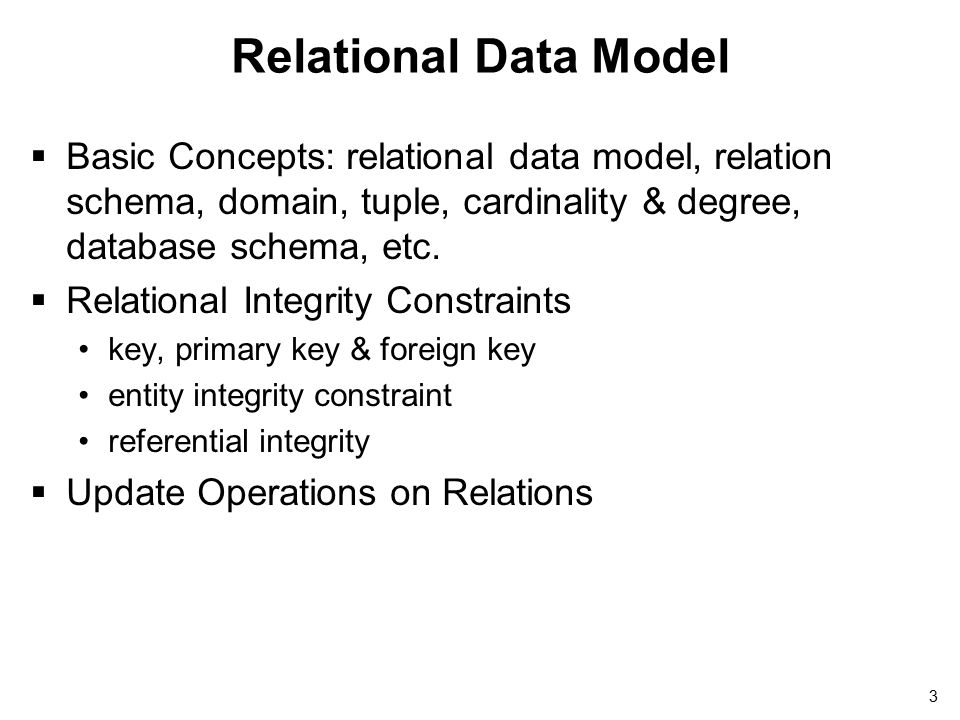 Relational Data Model and ER-/EER-to-Relational Mapping - ppt download
