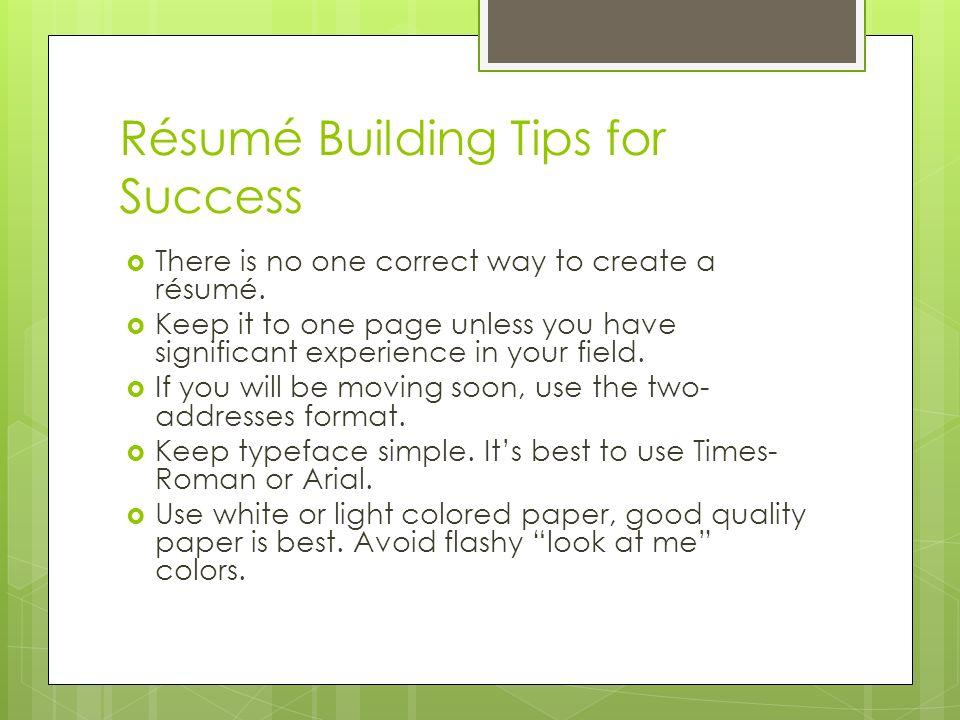 resume building tips getessay biz resume building students tips