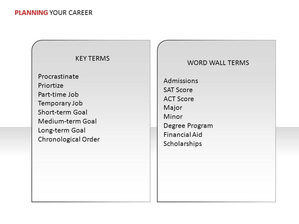 job goals - Pinarkubkireklamowe