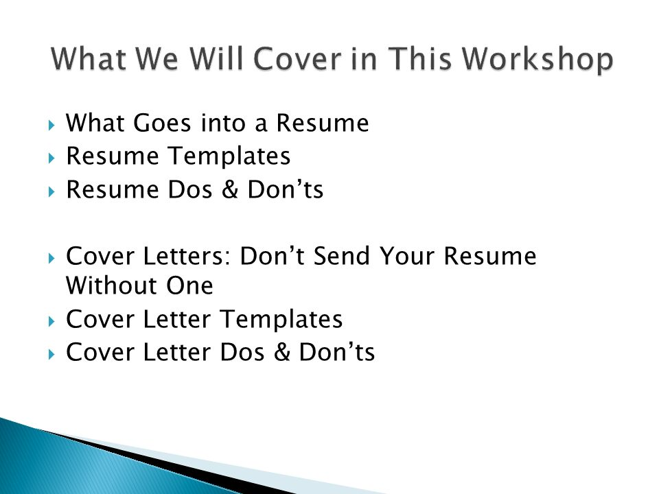 Mr Gragert English IV  What Goes into a Resume  Resume - resume dos and don ts