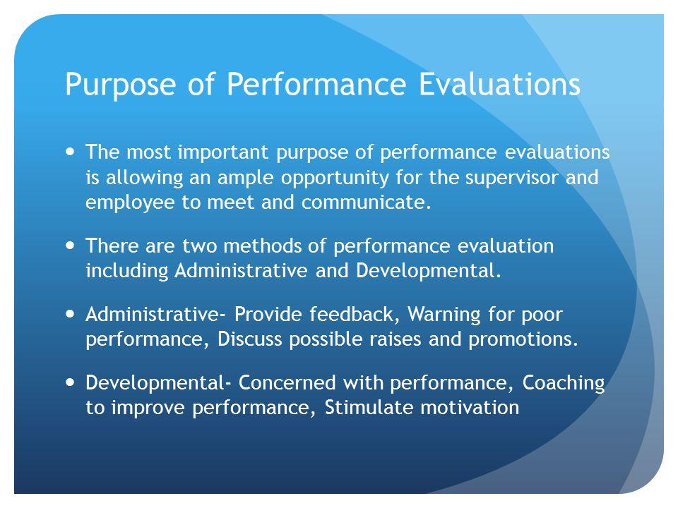 Importance of Evaluating By Lincoln Kemmerer, Brian Fletcher