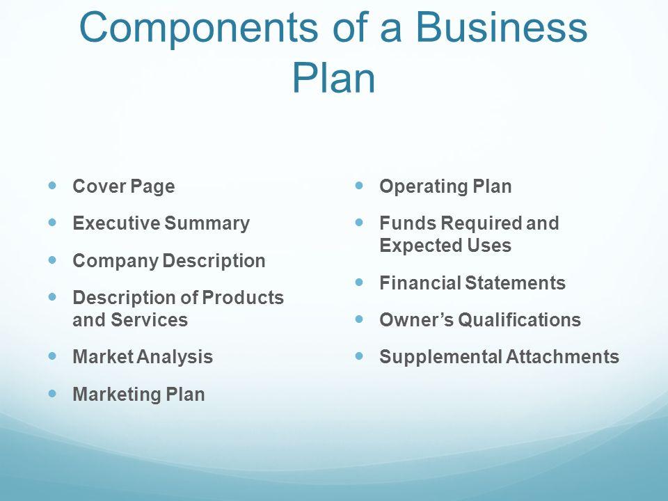 Internal Marketing Components Marketing Plan Primary Components Of - Components Marketing Plan