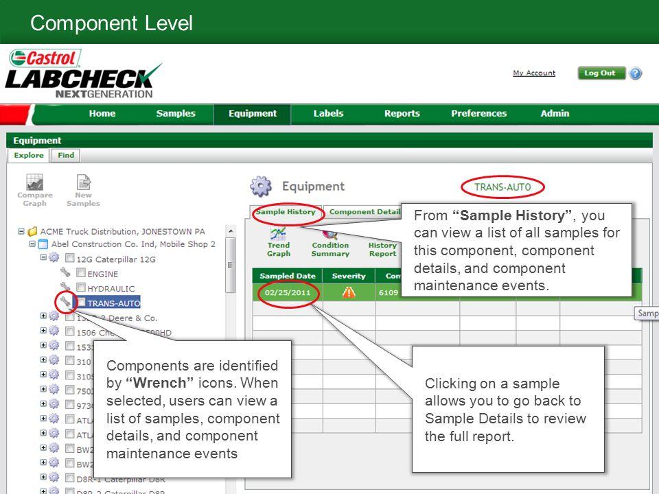 Labcheck Next Generation Quick Start Guide Equipment Management - equipment list samples