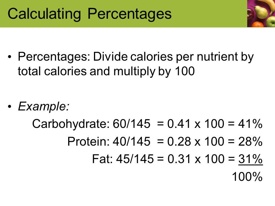 Judith E Brown Prof Albia Dugger Miami-Dade College Calories! Food - calorie and fat calculator