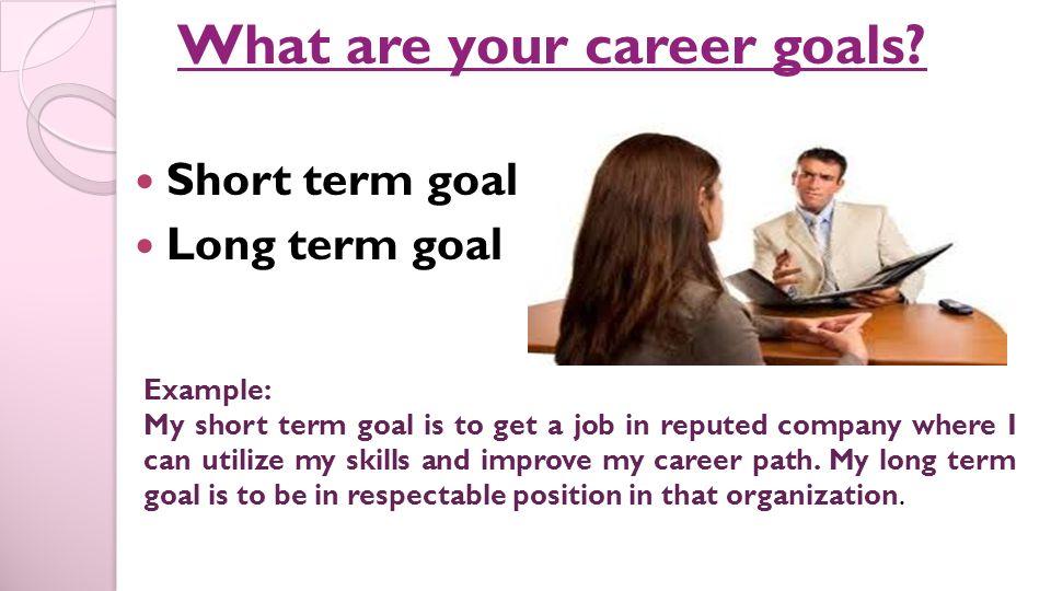 my career goals essay career goal statement examples jobs