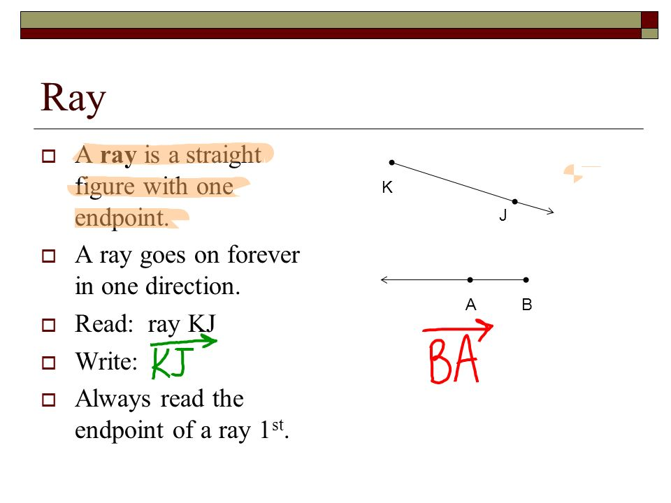Rays and Angles Honors Math \u2013 Grade 4 Review  Name this line 6