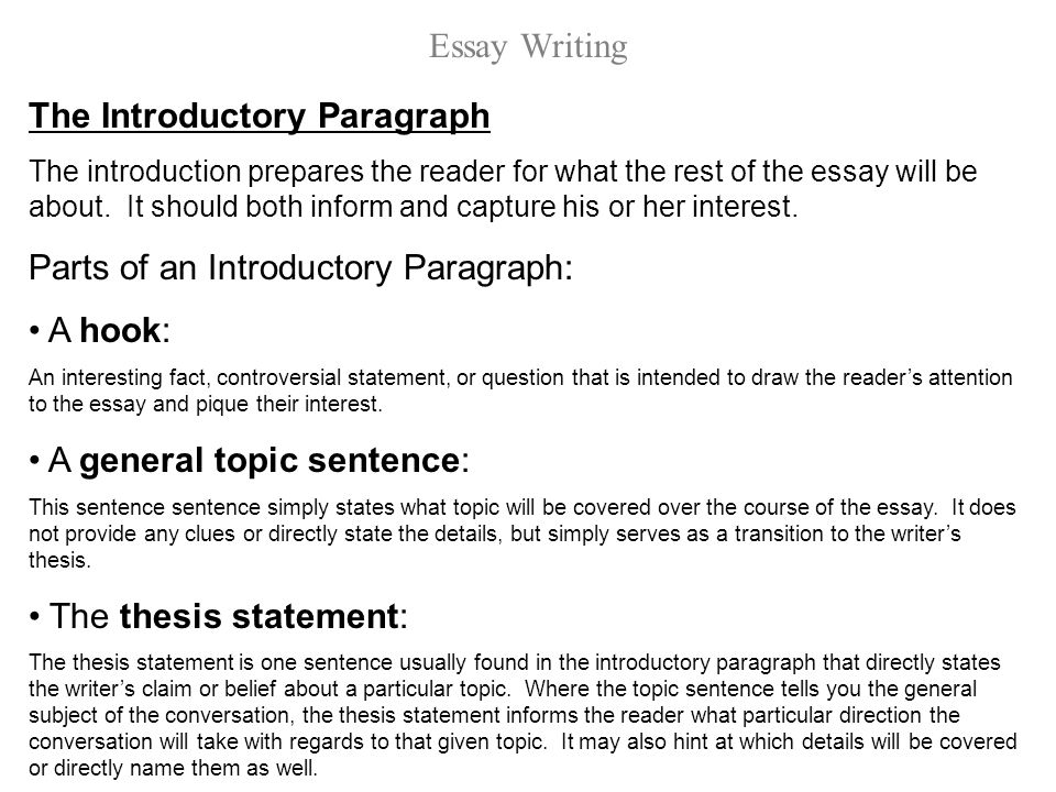 essay introductory paragraph - Gottayotti - how to make a introduction paragraph