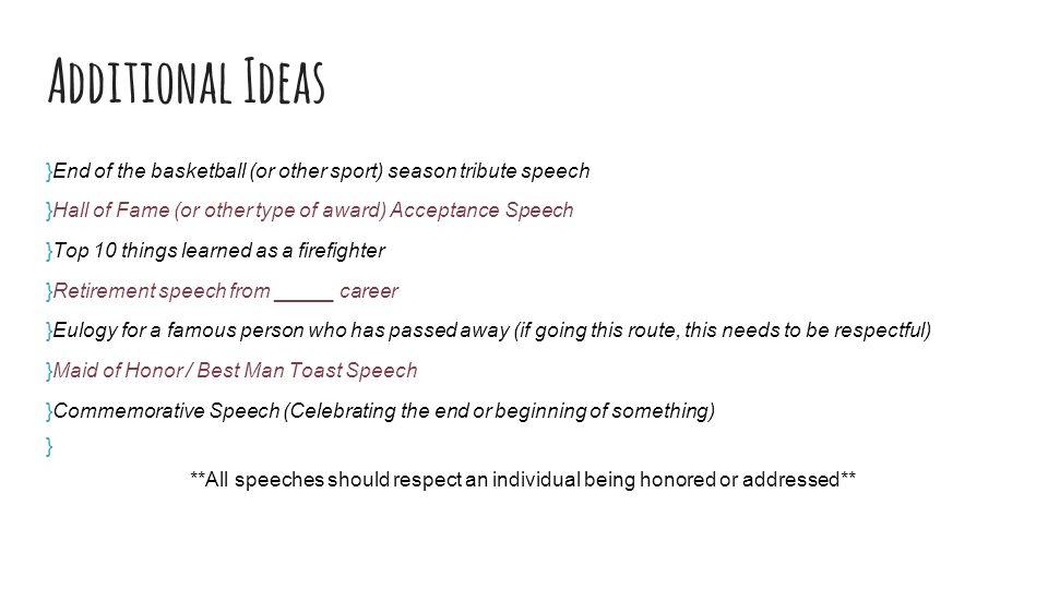 Fine Retirement Speech Example Images   Resume Ideas   Bayaar.info
