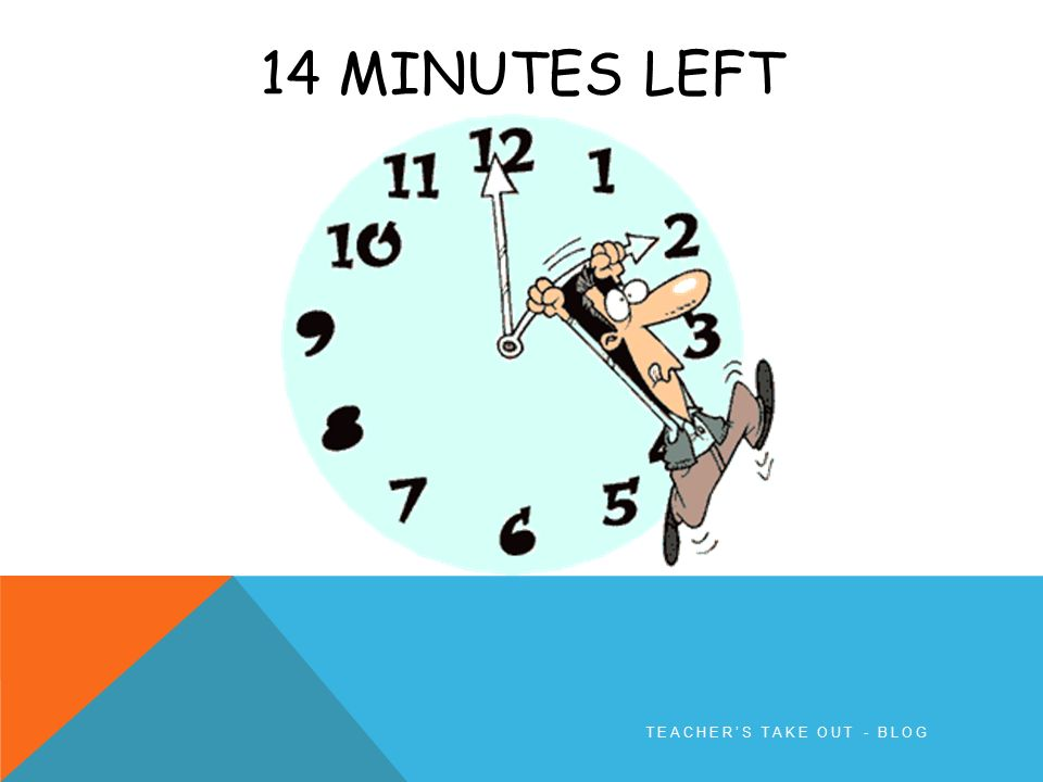 15 MINUTE TIMER Pick a slide for the minutes you want to set Start