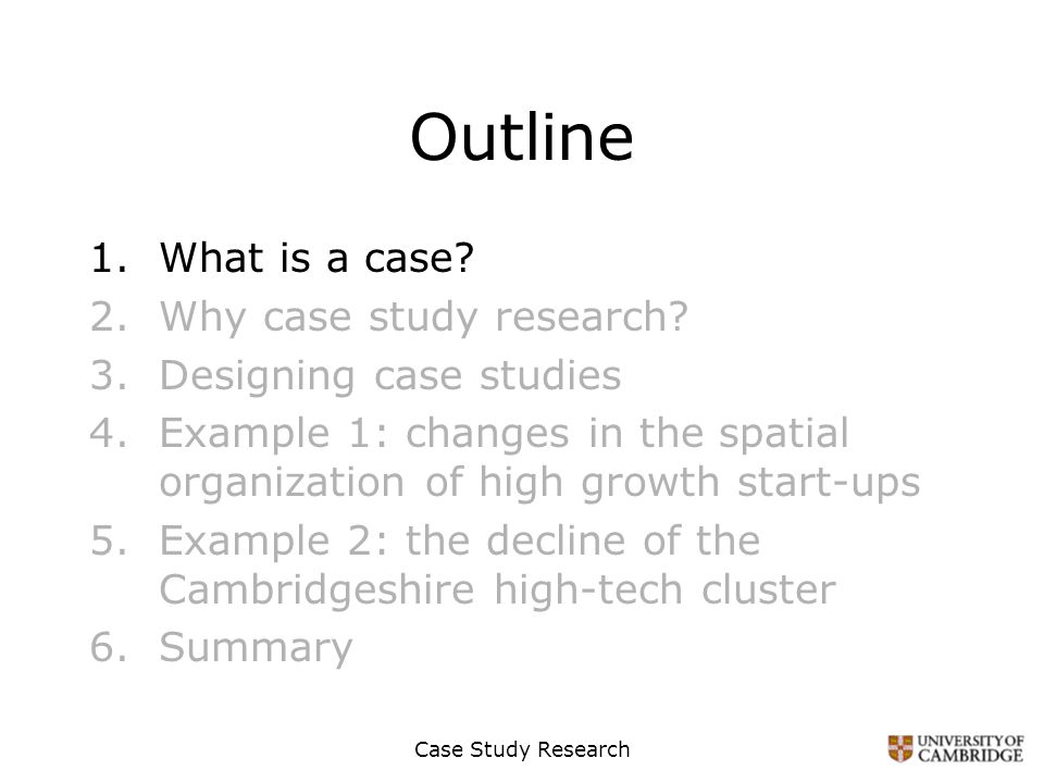 Case Study Research Methodology Sample - How to Write a Methodology