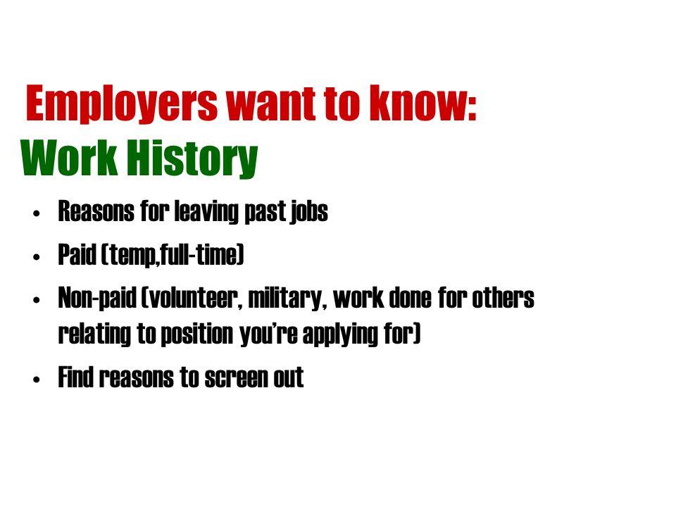 Job Applications Tips PEP Talk *Pre-employment Preparation * - ppt