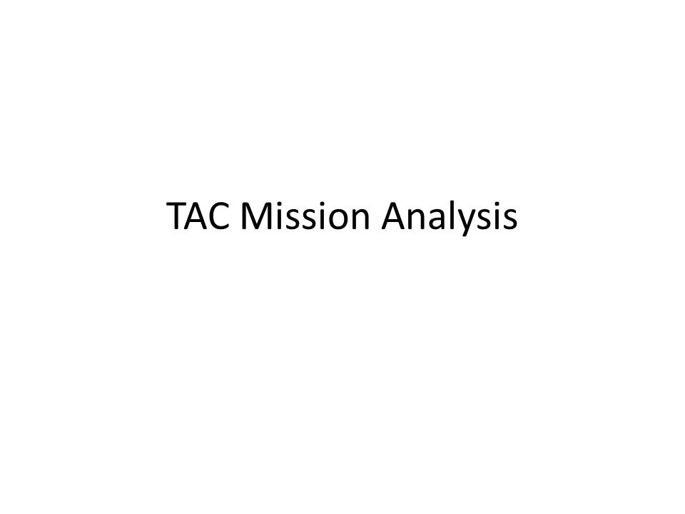 TAC Mission Analysis Oporder Format Situation \u2013 Higher Headquarters