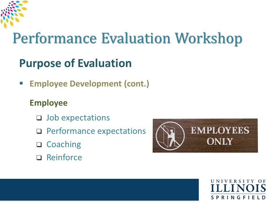 Purpose Employee Evaluation 25 free employee evaluation forms