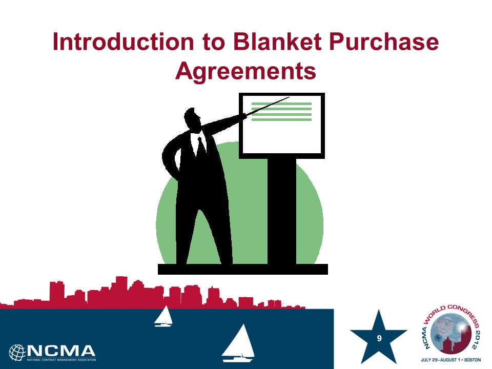 1 Fundamentals of Blanket Purchase Agreements Breakout Session # E03