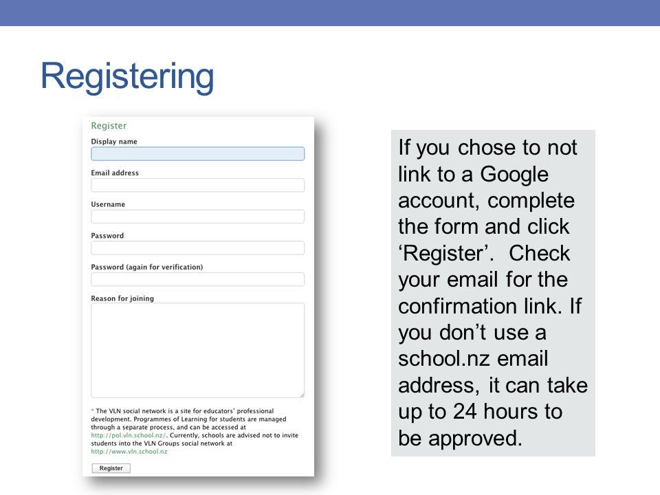 USING THE VLN Suzie Vesper u2013 Digi Advisor CORE Education - ppt - what is the advisor invitation verification form