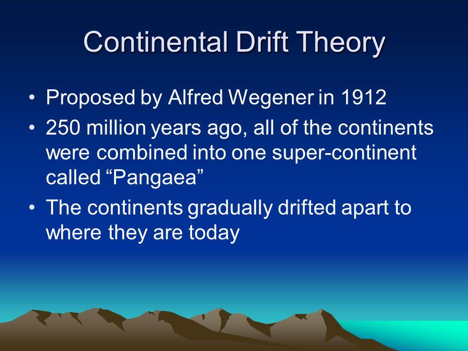 Continental drift theory essay Homework Help vitermpapernymh