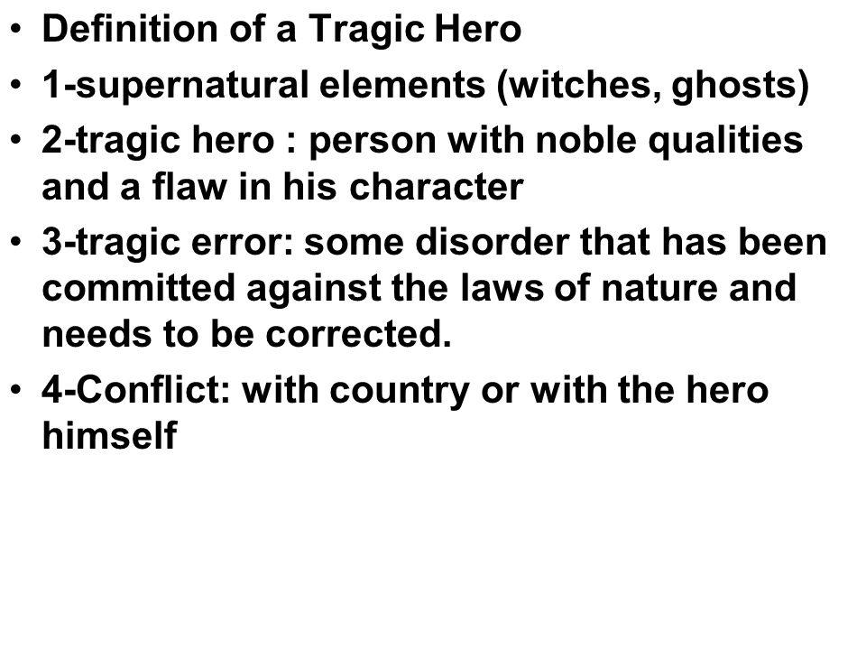 Supernatural elements displayed in macbeth essay Research paper - macbeth conflict essay