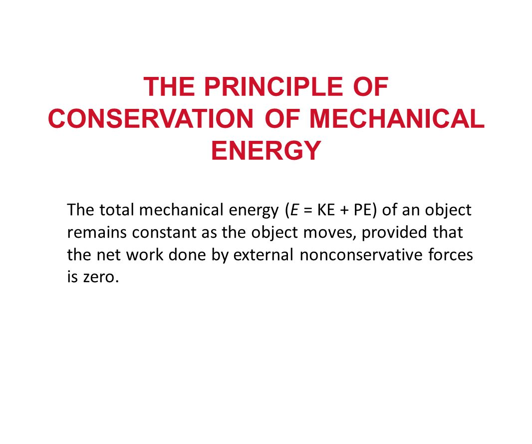 Energy E Work And Energy Work And Kinetic Energy Total Work Kinetic Energy