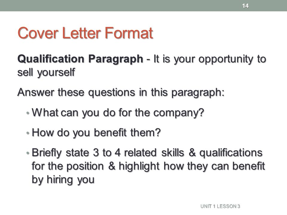 COVER LETTER Naviance Family Connection - ppt download