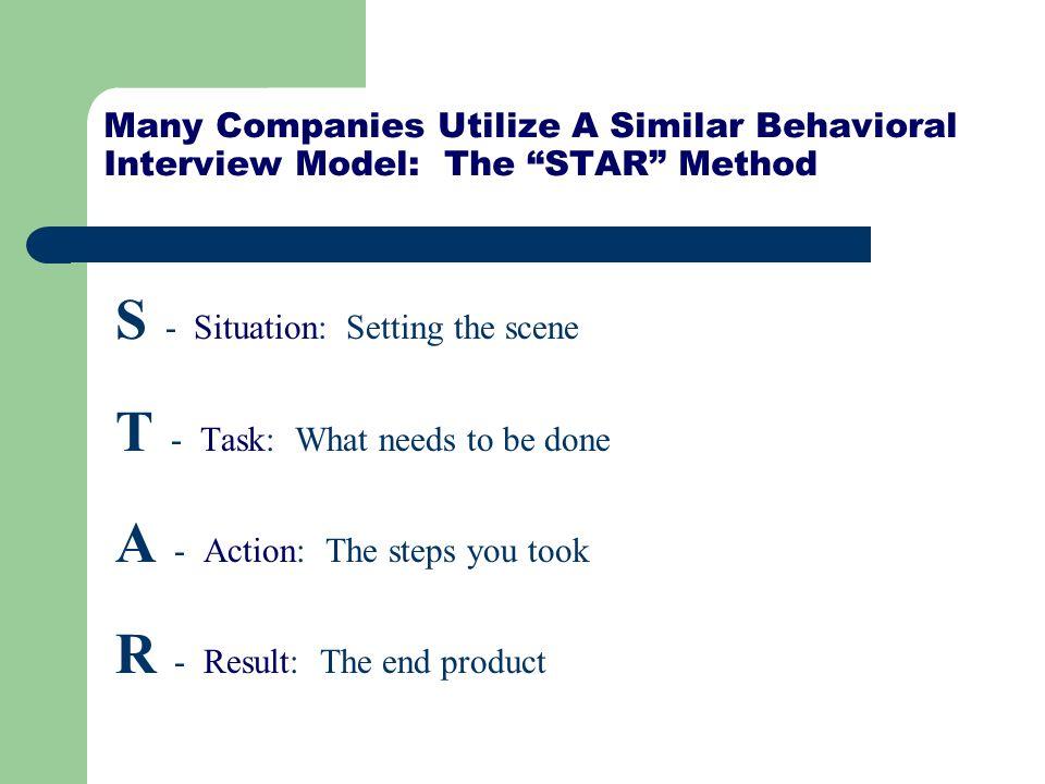interview star method - Boatjeremyeaton