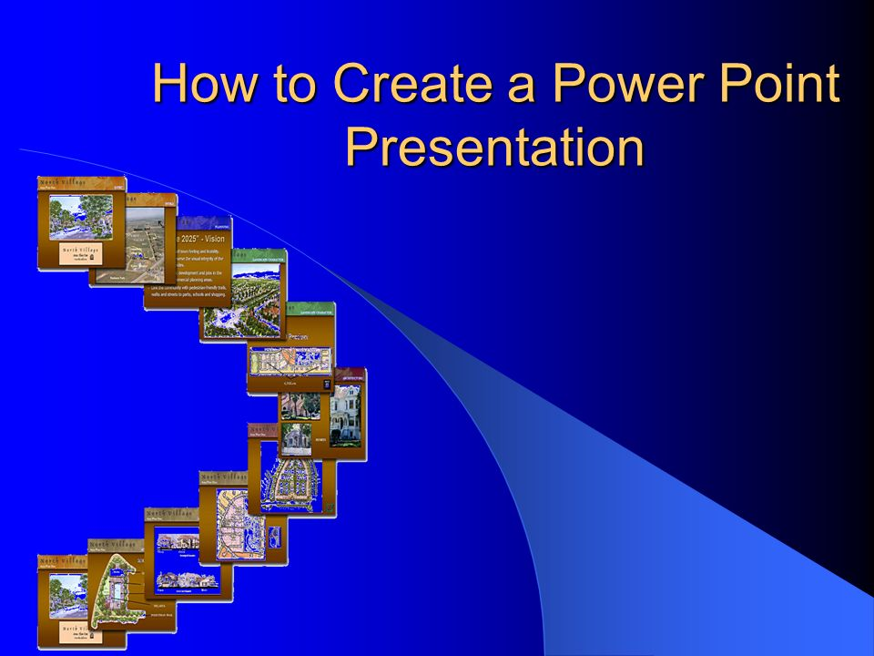 How to Create a Power Point Presentation Topics that will be