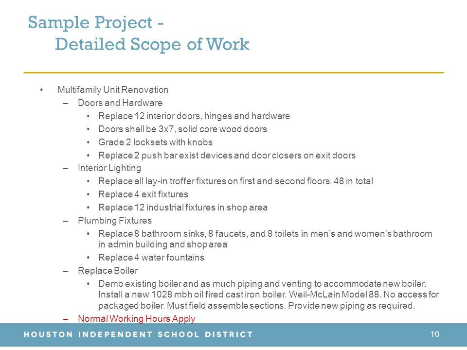 Inspiration 90+ Bathroom Renovation Scope Of Work Template Design - scope of work template
