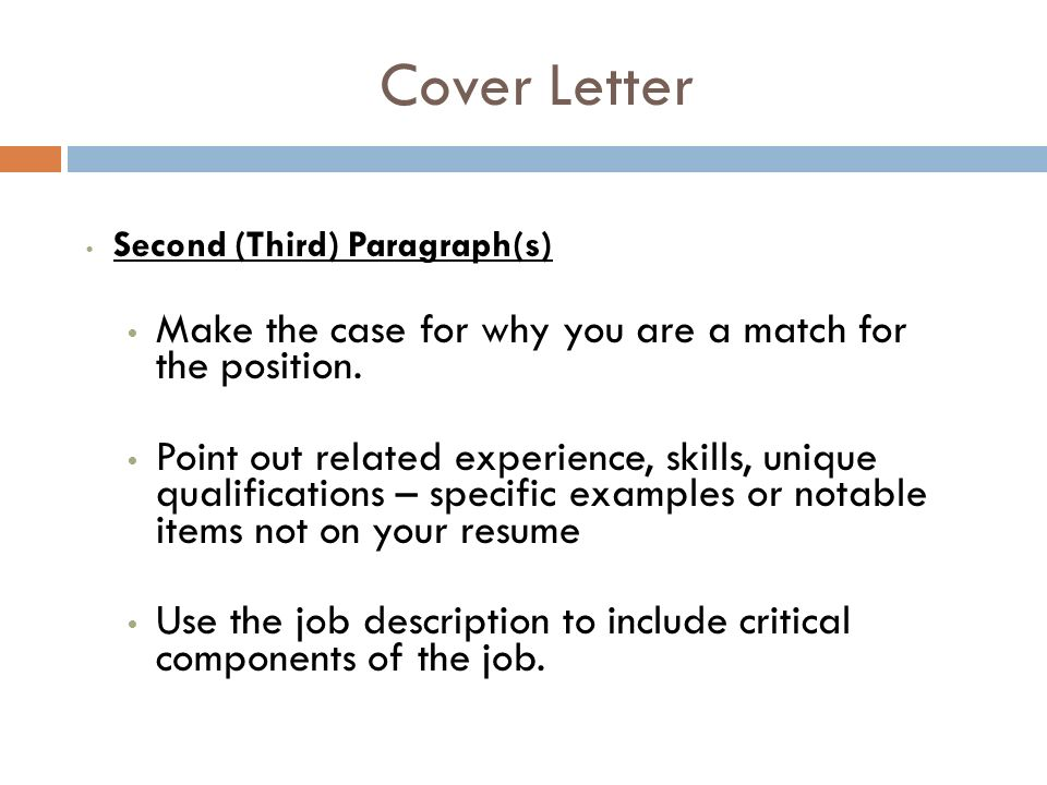 COVER LETTERS LIST OF REFERENCES THANK YOU NOTES Seattle Pacific - job qualifications list