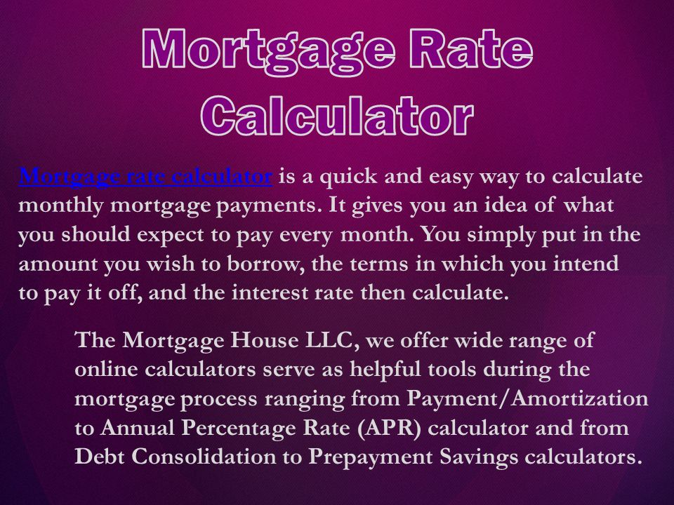 The Mortgage House, LLC have built a strong reputation as an