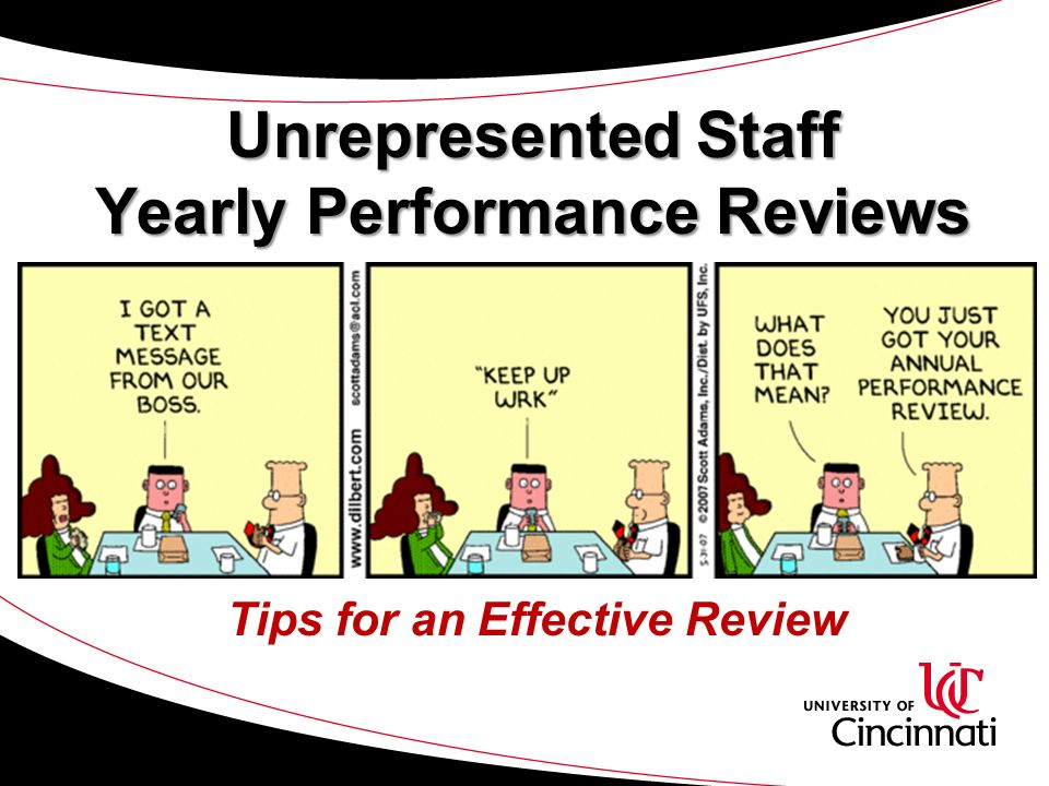 Unrepresented Staff Yearly Performance Reviews Tips for an Effective