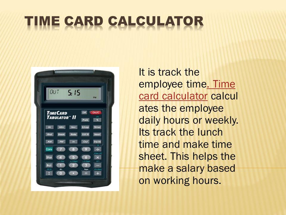 Timecard Calculatorweekly Time Card Templatejpg - time card calculator