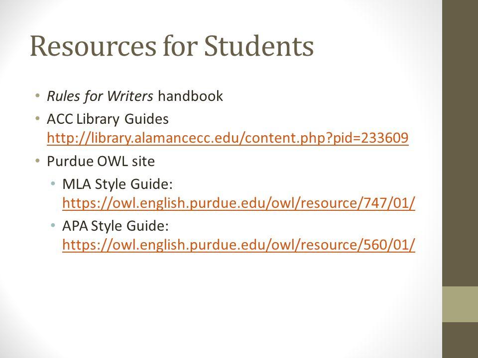 MLA and APA Documentation Refresher Importance of Documentation