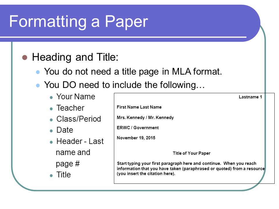 In-Text Citations  MLA By the end of this lesson you will know 1