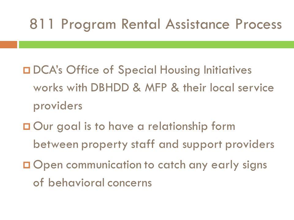 811 Program Rental Assistance Information Session Laurel Hart, Marie