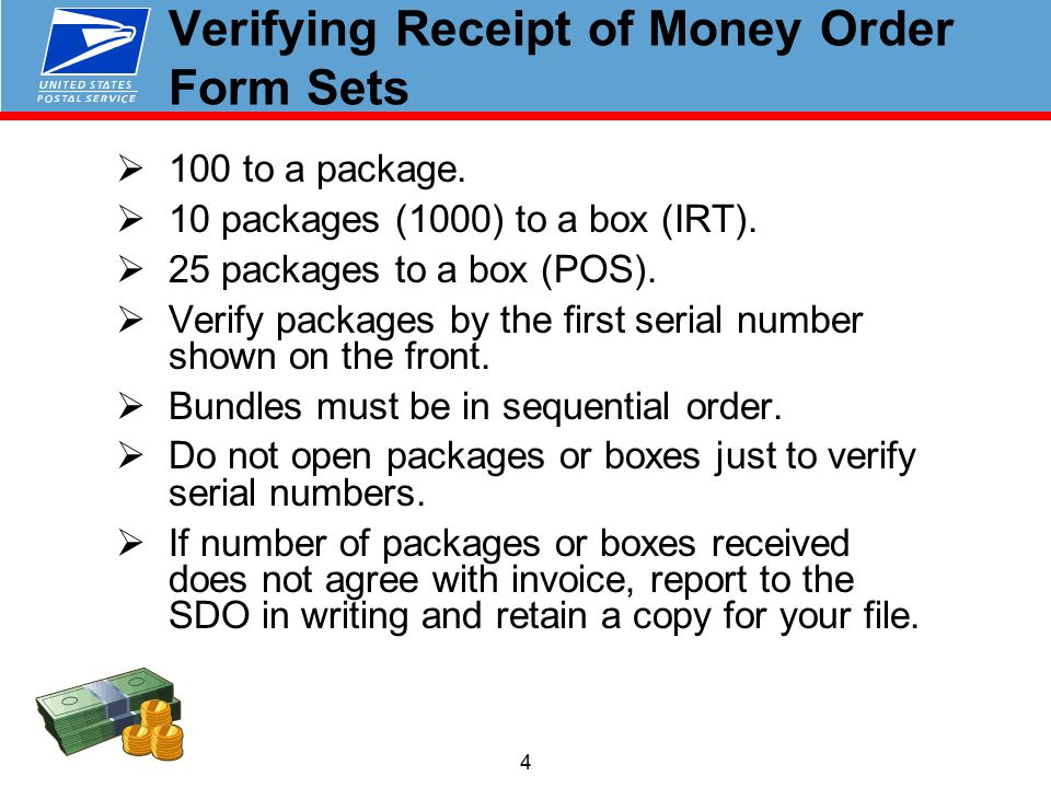 MONEY ORDERS Pacific Area Finance Training February ppt download
