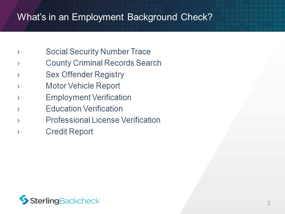 Legal Implications of Background Checks Angela Preston SVP