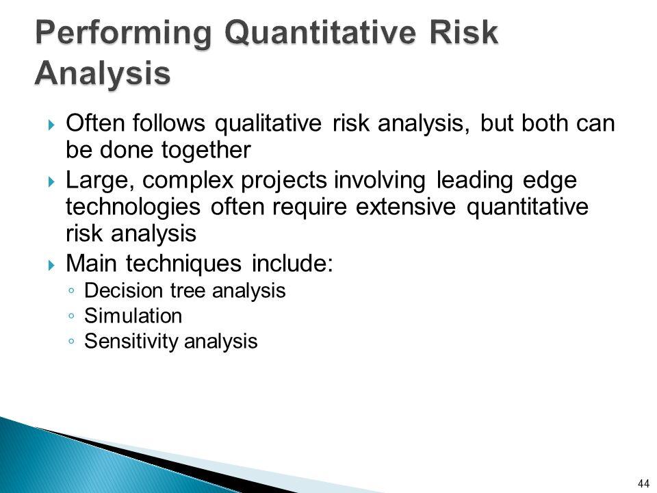 Quantitative Risk Analysis A Basic SemiQuantitative Risk Rating