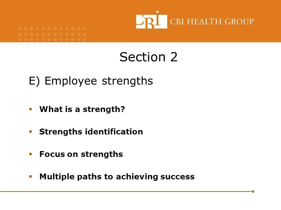 CBI Health Group Manager Development Series Module 3 Performance