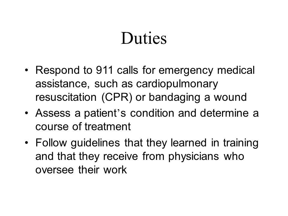 EMT/ Paramedic 81 Research Paramedic as a career - ppt download