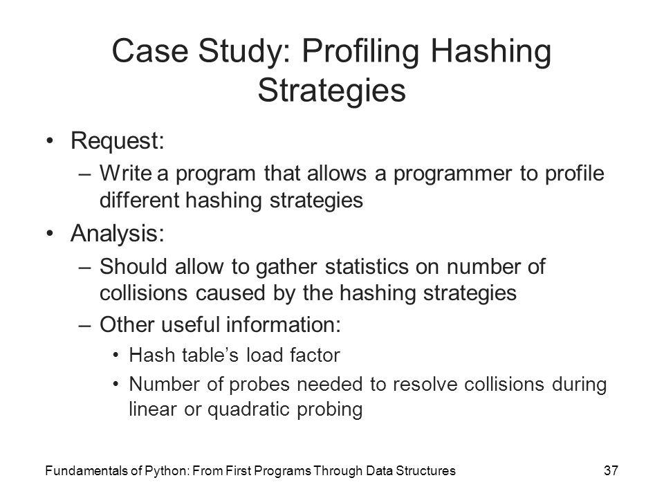 sample case study analysis paper - Sample Analysis