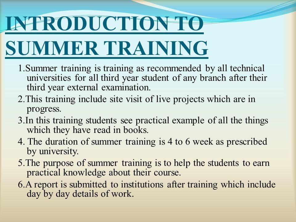 SUMMER TRAINING REPORT ON R0AD CONSTRUCTION MANKAPUR (GONDA) UNDER