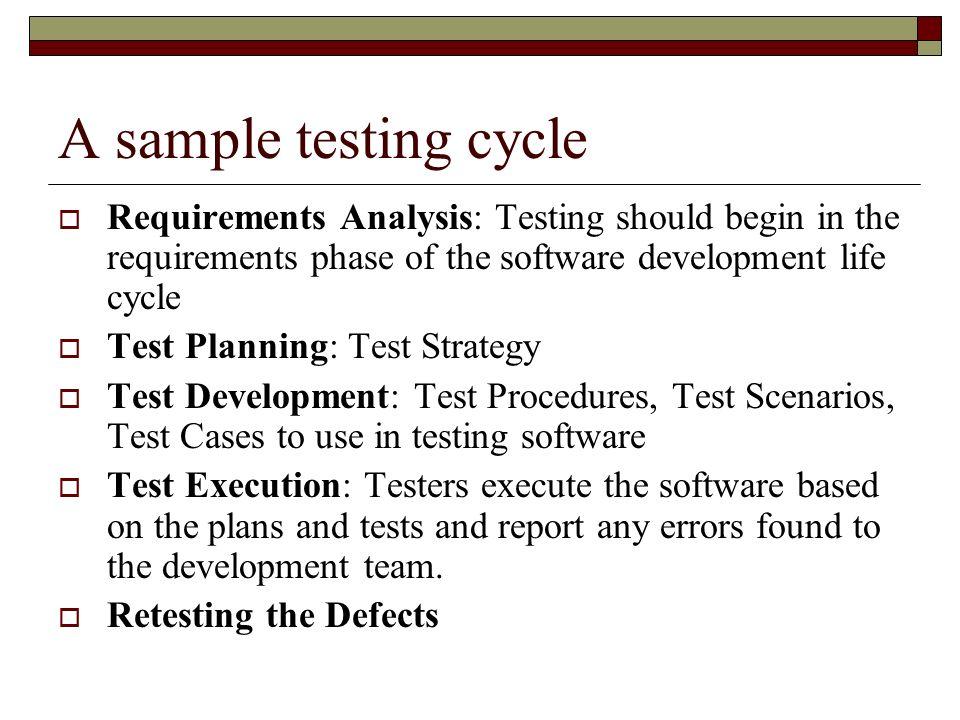 Software Verification \ Validation By Sunmeet Sethi Bhavin - sample requirement analysis