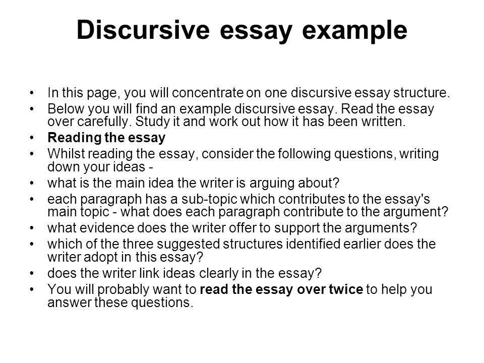 writing a discursive essay planning a discursive essay structures
